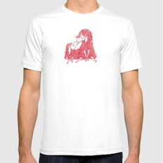 Derpy Love White Mens Fitted Tee SMALL