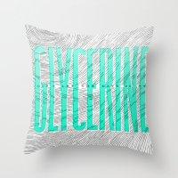 Glycerine Throw Pillow