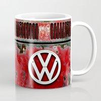 VW Retro Red Mug
