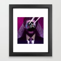 mas alla del bien y del mal Framed Art Print
