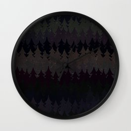 Wall Clock - The secret forest at night - Better HOME