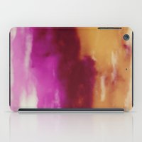 Cherry Rose Painted Clou… iPad Case