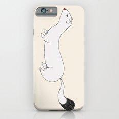 White Stoat iPhone 6 Slim Case