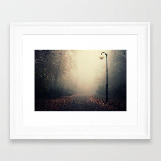 Enclosed Framed Art Print