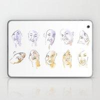 Dodger Faces Laptop & iPad Skin