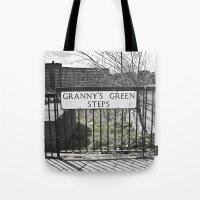 Granny's Green Steps Tote Bag