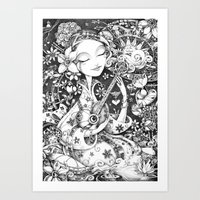 Weeping Widow Art Print