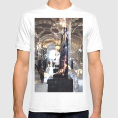 rynsr1j SMALL Mens Fitted Tee White