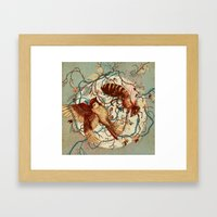 Honey & Sorrow Framed Art Print