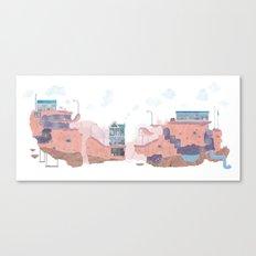 Lifescape Canvas Print