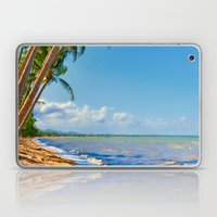 Coconut palms in Tropical North Queensland Laptop & iPad Skin