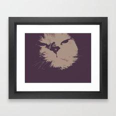 Renegade Cat Framed Art Print