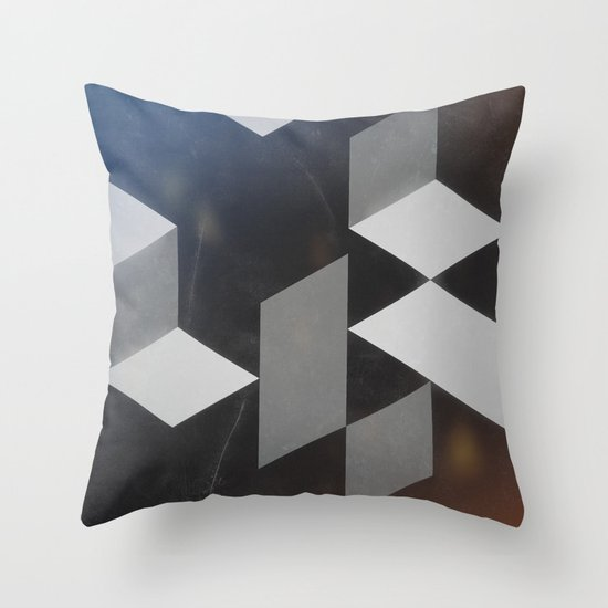 Abstract underworld Throw Pillow