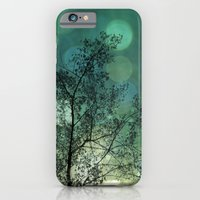 iPhone & iPod Case featuring Tree Magic in Teal by Leah M. Gunther Photography & Design