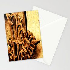 Metalwork and Wood Stationery Cards