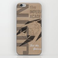 Join The Imperial Academy! iPhone & iPod Skin