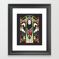 Spirited Deco Framed Art Print