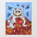 Queen of Pomodoro Canvas Print