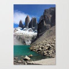 Mirador Las Torres, Patagonia Canvas Print