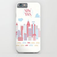 iPhone & iPod Case featuring New York City  by Sonia Poli