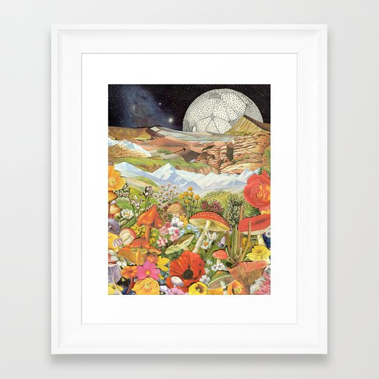 Shrooms Framed Art Print