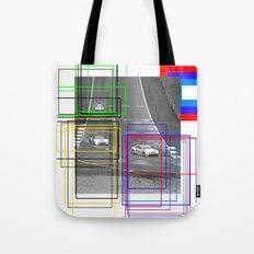 The Racing Line Tote Bag