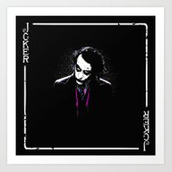 Mr. Joker Art Print