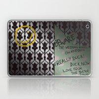 221 Beware Laptop & iPad Skin