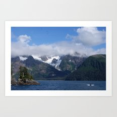 Alaskan Voyage Art Print
