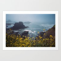 Yaquina Head Art Print