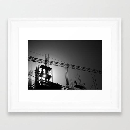 Building Buildings Framed Art Print