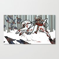 The Wolf Tamer Canvas Print