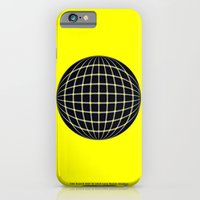 iPhone & iPod Case featuring BLACK DOT by Lazy Bones Studios