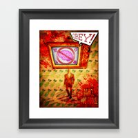 Dance,you Fools! Framed Art Print