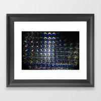Reflection Of A Reflecti… Framed Art Print