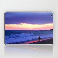 Sunset Skimboarder Laptop & iPad Skin