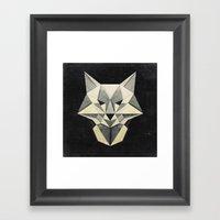 Wandering Wolf Framed Art Print