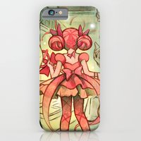 iPhone & iPod Case featuring Mahou Subway by CKellyIllustration