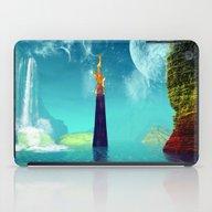 Fantasy Landscape iPad Case