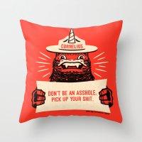 Ranger Cornelius Says...… Throw Pillow
