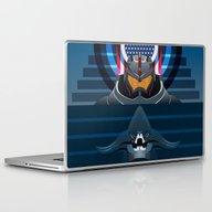 Pacific Rim, Jaws Editio… Laptop & iPad Skin
