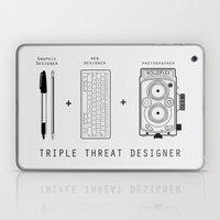 Triple Threat Designer Laptop & iPad Skin