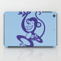 Blue Monkey iPad Case