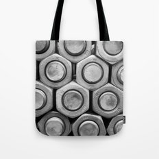 STUDS (b&w) Tote Bag