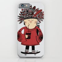 Native American Skater B… iPhone 6 Slim Case