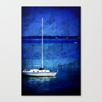 Dreaming of Sailing Away Canvas Print