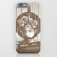 iPhone & iPod Case featuring Silence by Kyle Cobban