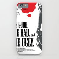 iPhone & iPod Case featuring The Good, The Bad and The Ugly by Chá de Polpa