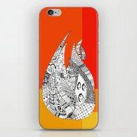 Fuego iPhone & iPod Skin