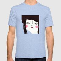 Geisha Mens Fitted Tee Tri-Blue SMALL